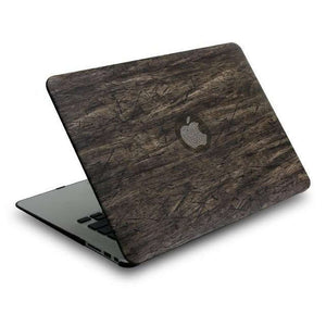 Wood Grain Hard Top Laptop Case
