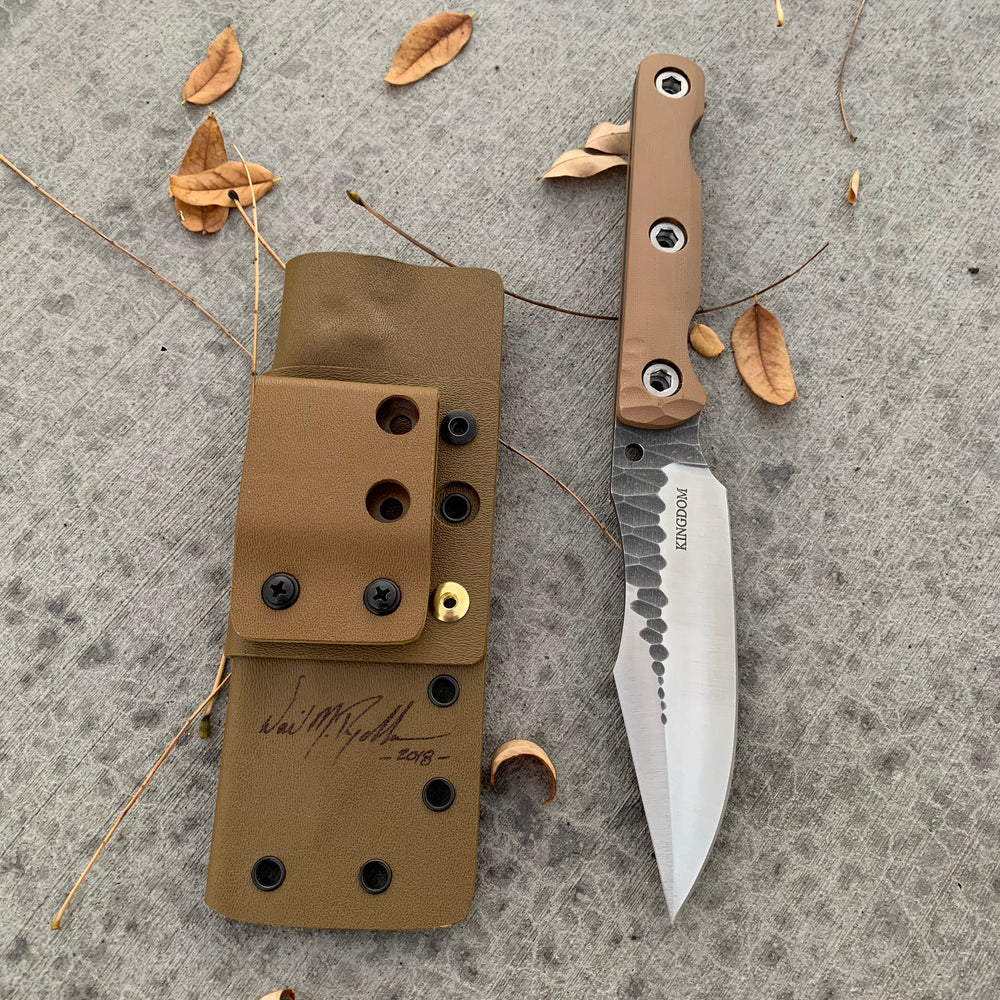 KA Custom Stavesacre Fixed Blade