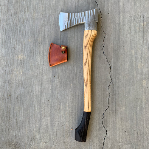 KA Heritage Swedish Sculpted Collared Axe