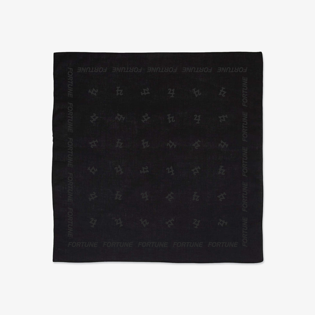 Fortune 421 Bandana - Black
