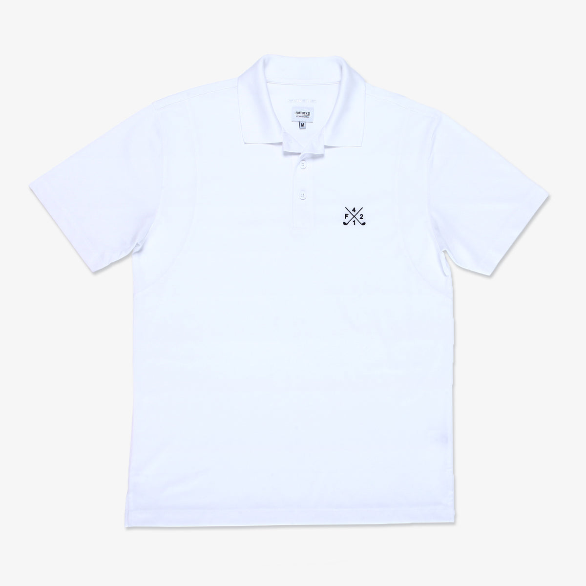 F421 Golf Polo - White