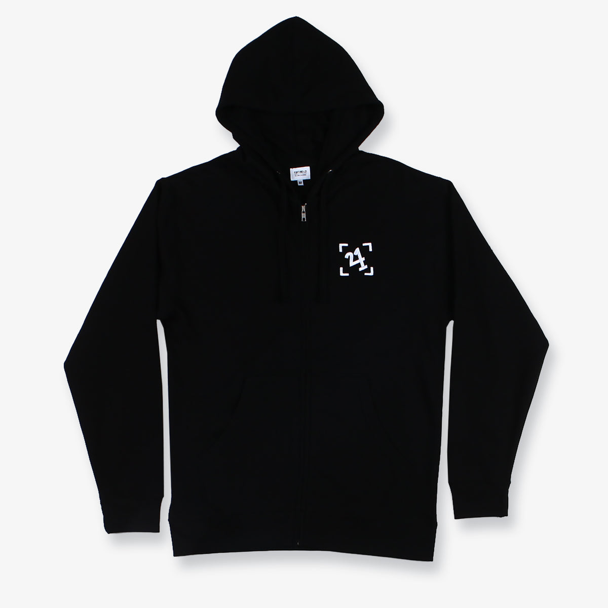 Boardwalk Zip Hoodie - Black