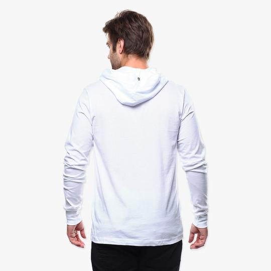 Fortune Hoodie Tee - White