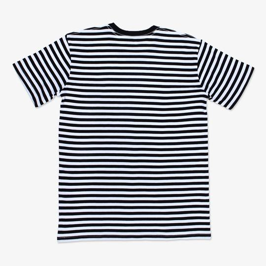 Mariner Stripe Tee - Black & White