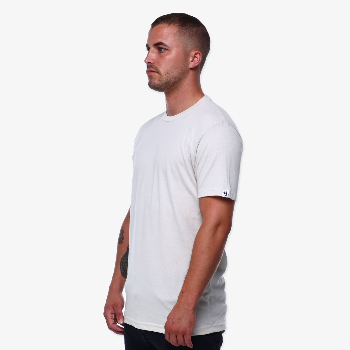 No Bad Days Crew Tee Sand