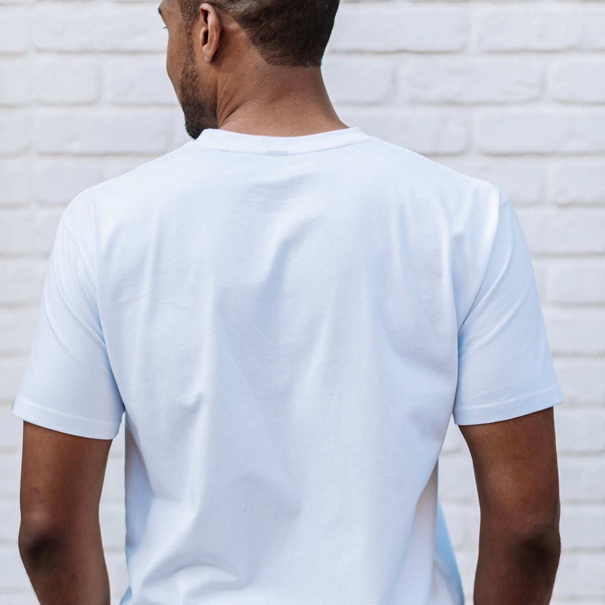 Pacific Pocket Tee - White