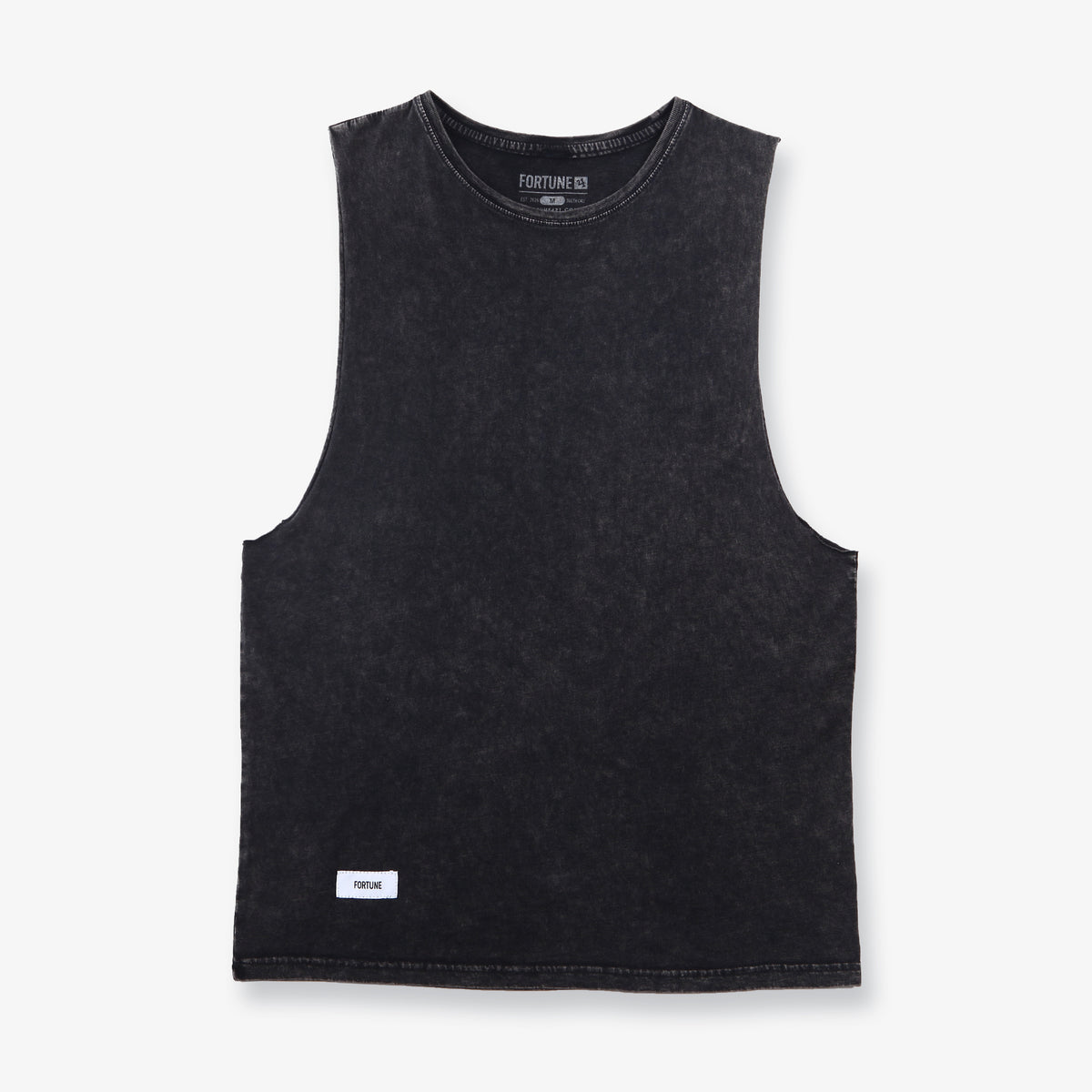 Playa Muscle Tank - Stone Black