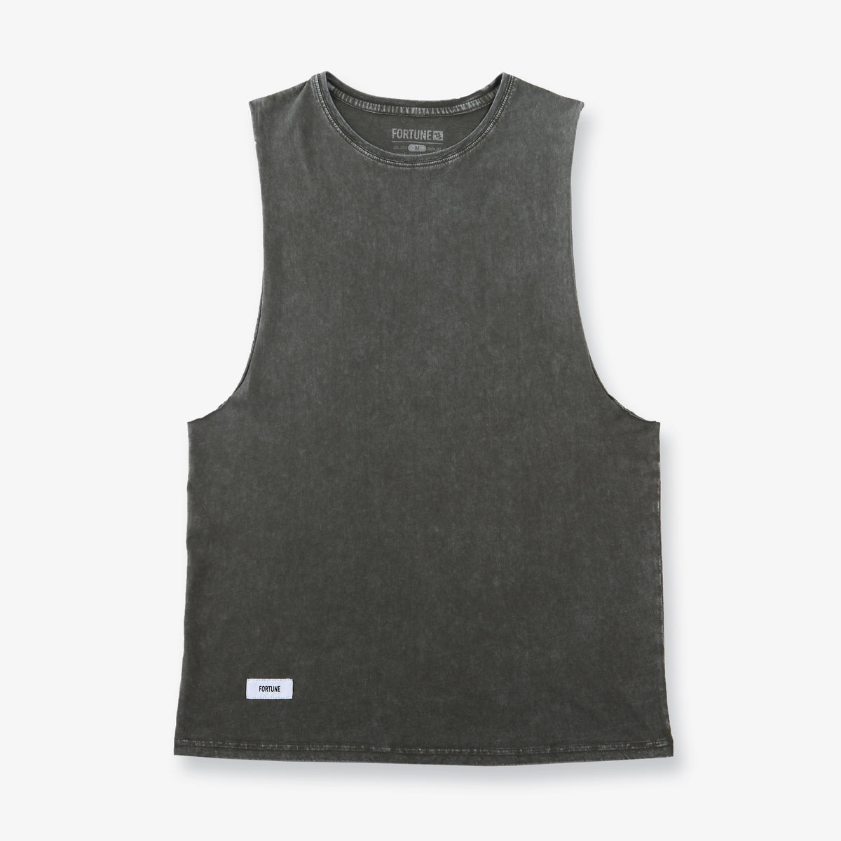 Playa Muscle Tank - Moss Green