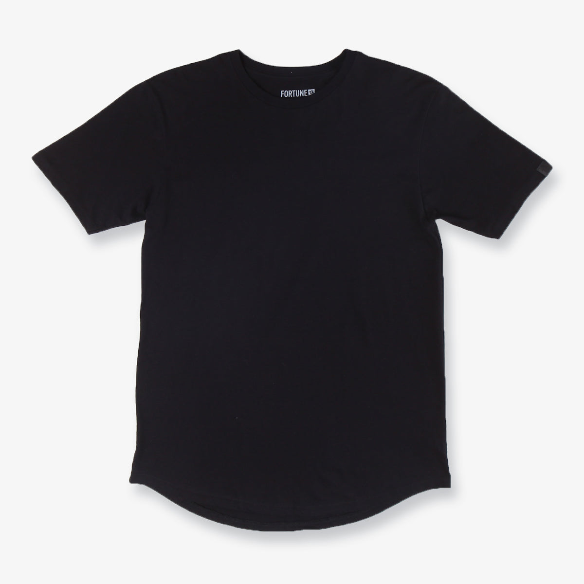 Raised Tall Tee - Black