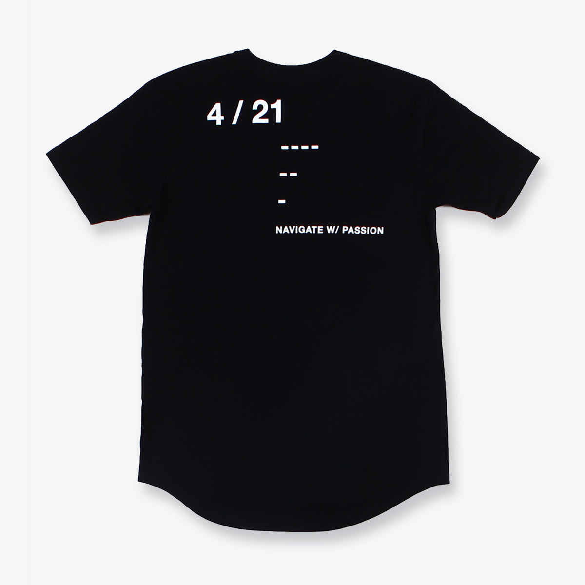 Thomas Tall Tee - Black