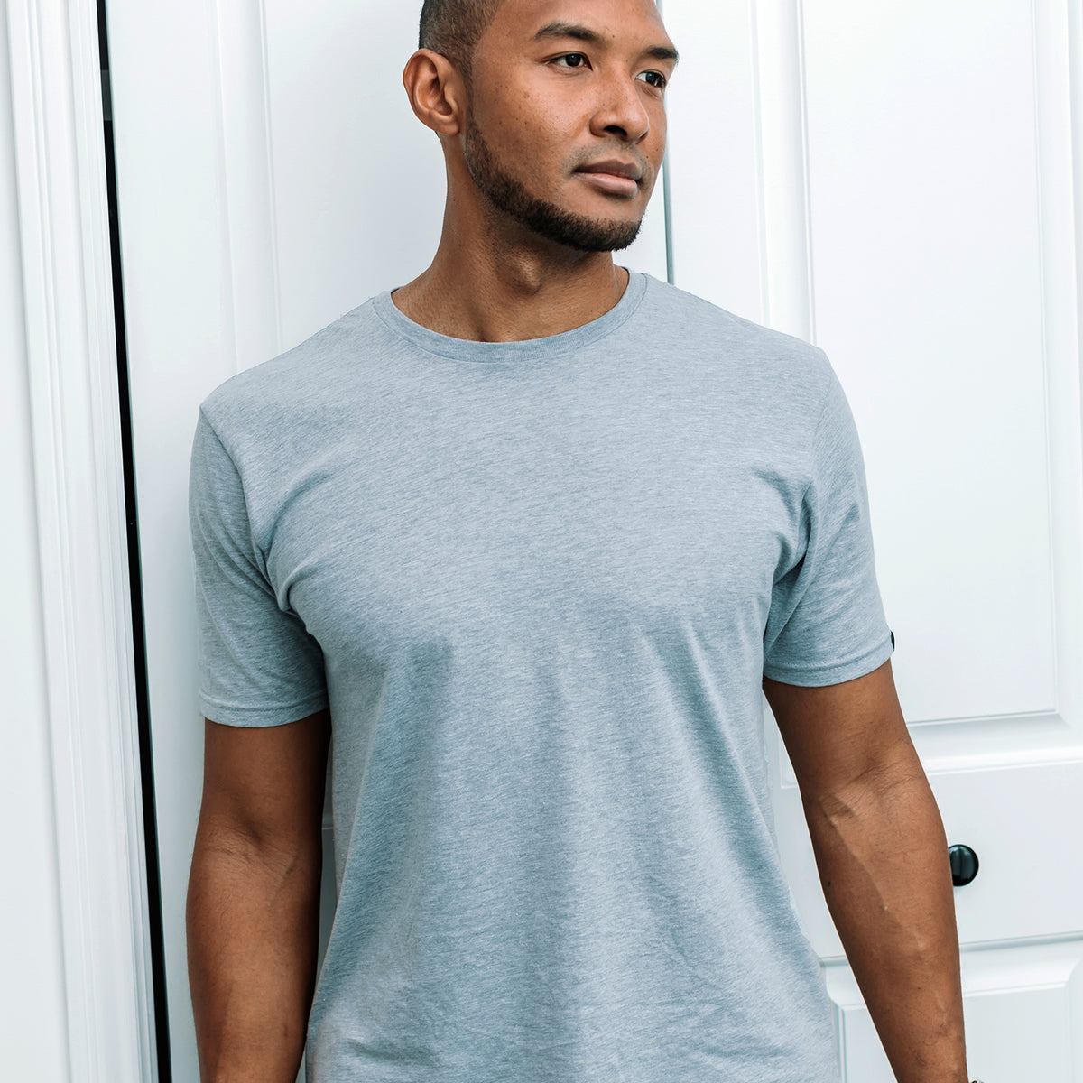 Thomas Tall Tee - Grey