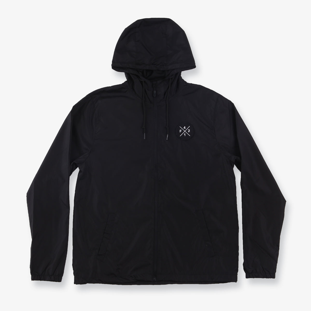 Yucatan Windbreaker Jacket - Black