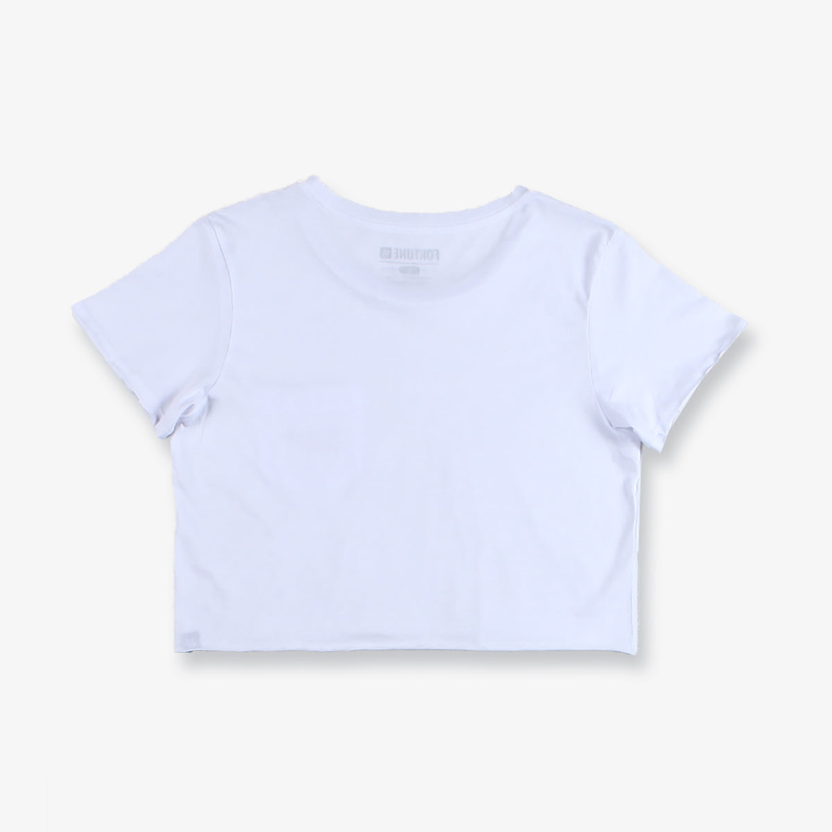 Pacific Cropped Pocket Tee - White