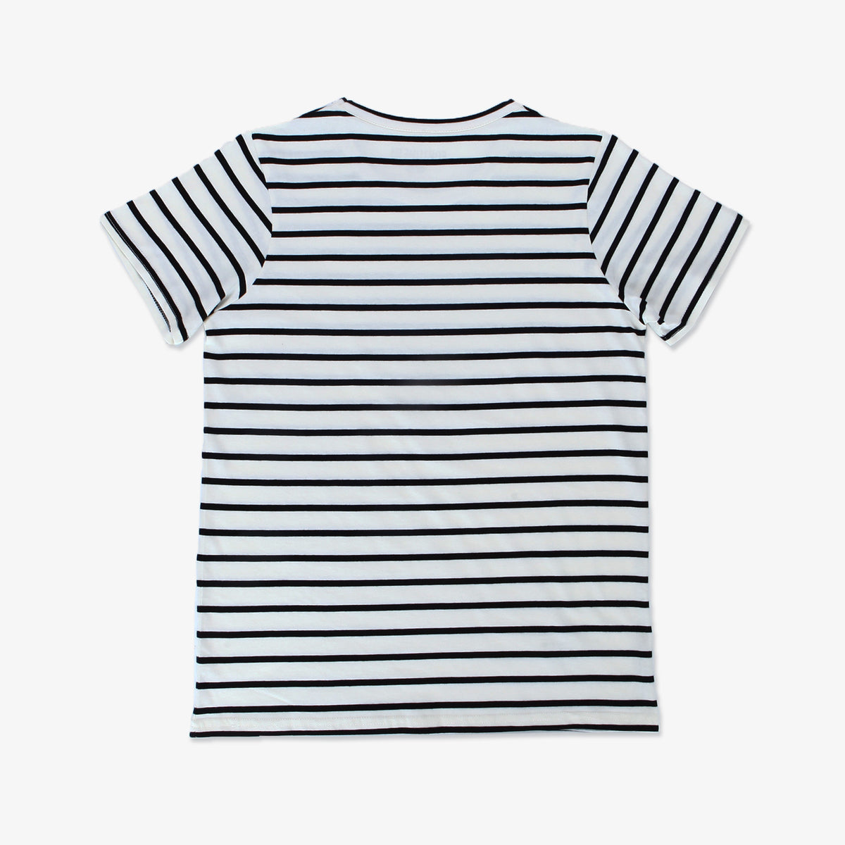 Pennant Stripe Tee - Natural