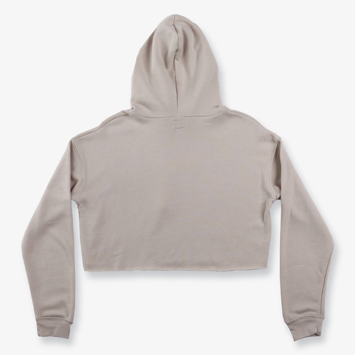 Project Cropped Hoodie - Sand