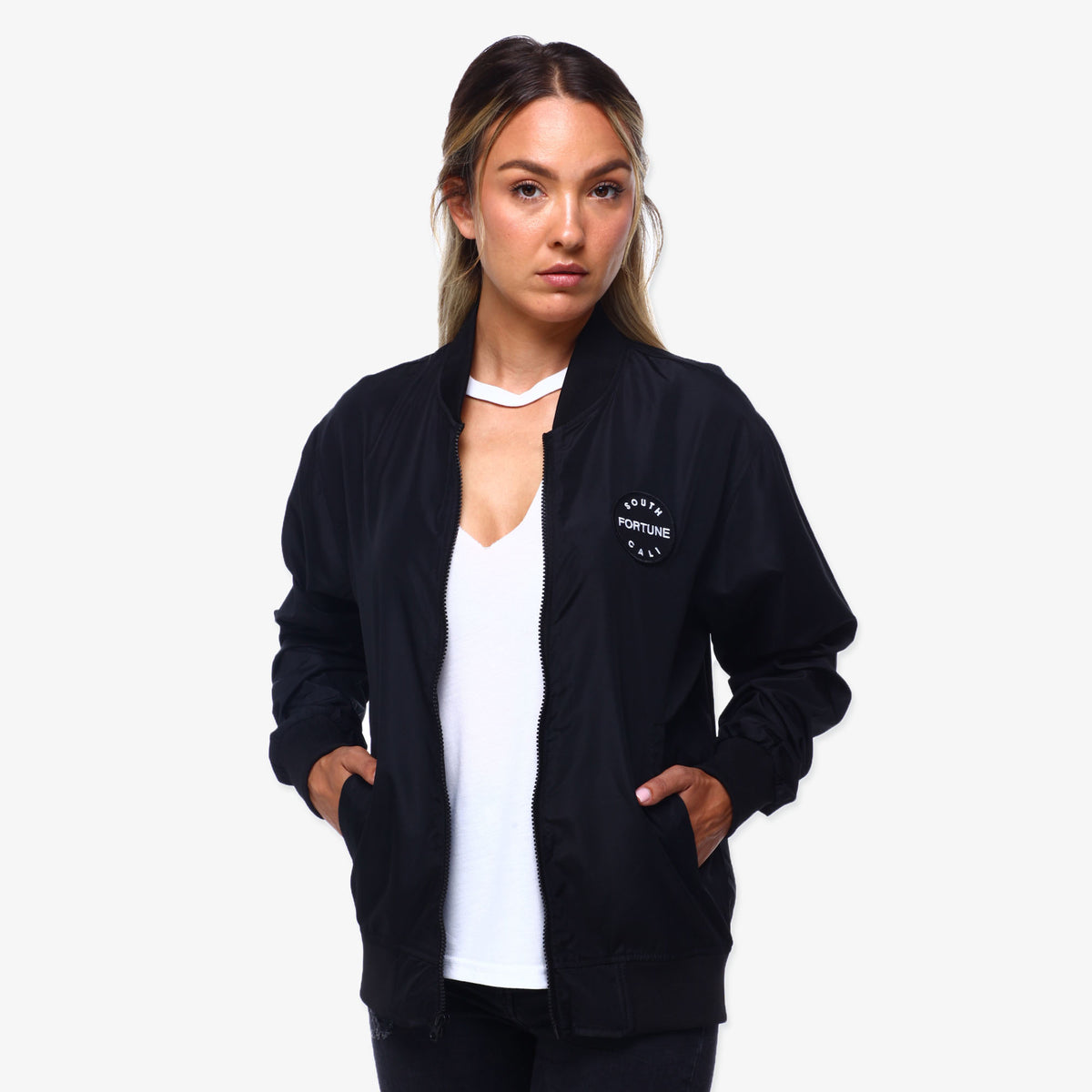 SC Bomber Jacket - Black