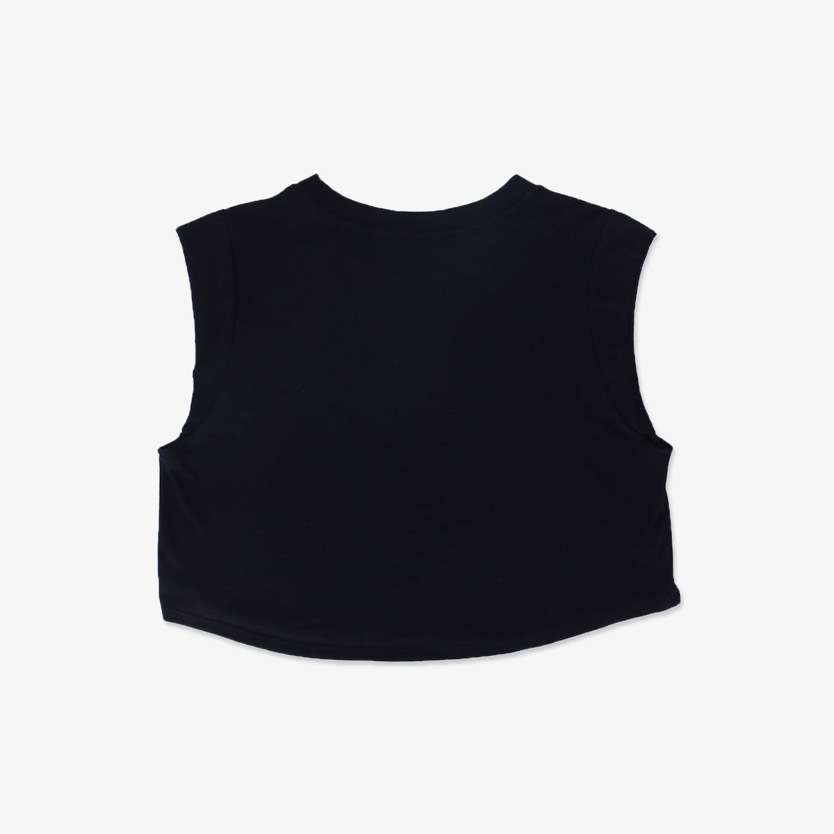 South Cali Muscle Cropped Tee - Black