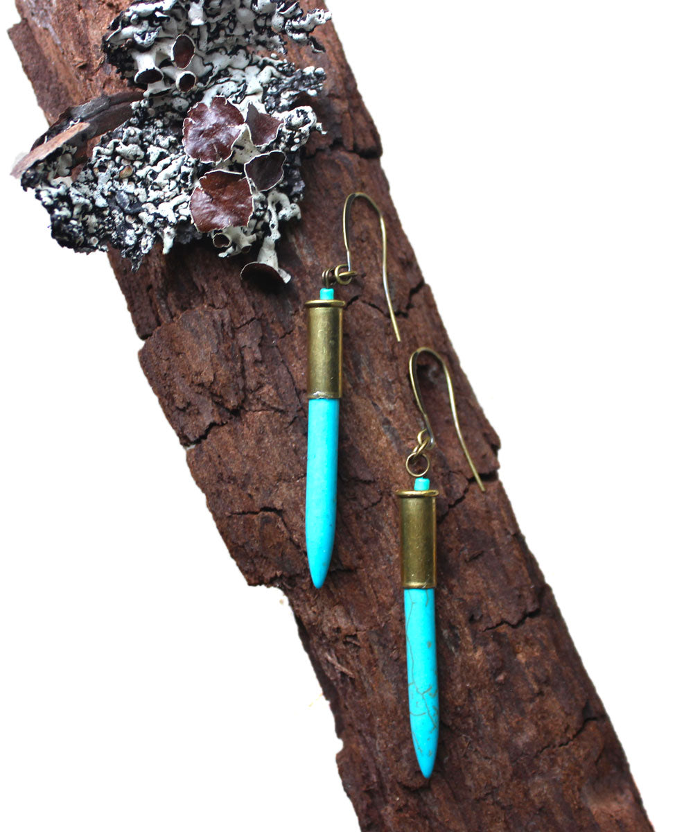 Turquoise Bullet - Big Hollow Designs