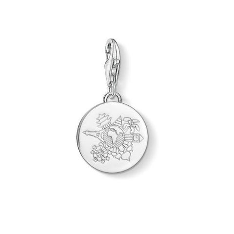 Thomas Sabo Sterling Silver Wanderlust Charm