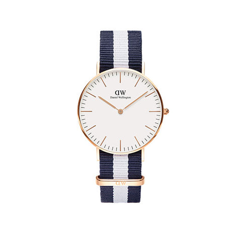 Daniel Wellington Classic Glasgow Rose Gold Watch