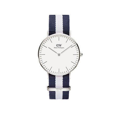 Daniel Wellington Classic Glasgow Silver Watch
