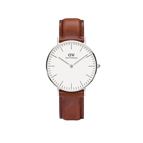 Daniel Wellington Classic St Mawes Silver Watch