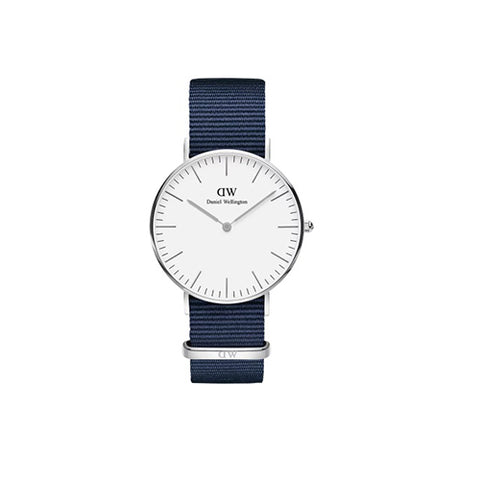 Daniel Wellington Classic Bayswater Silver Watch