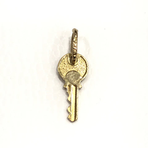 9ct Yellow Gold Key Pendant