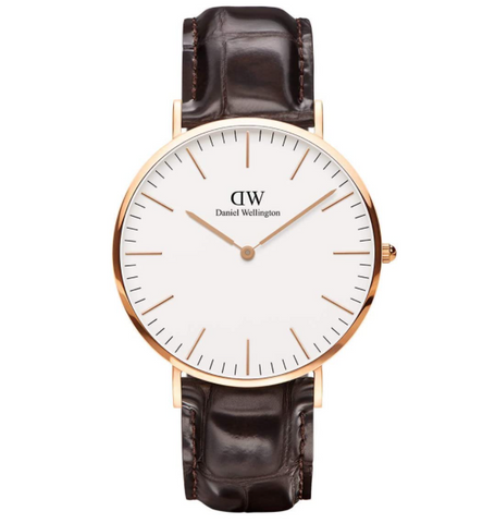 Daniel Wellington Classic York Rose Gold Watch 40mm