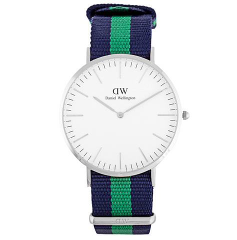 Daniel Wellington Classic Warwick Silver Watch 40mm