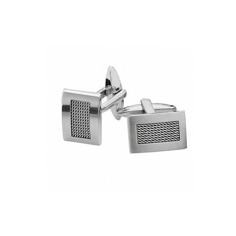 Spartan Mesh Cuff Links