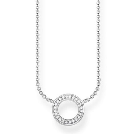 Thomas Sabo Sterling Silver Small Circle Necklace