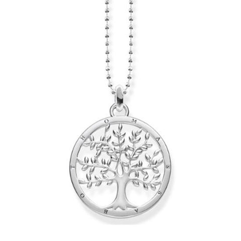 Thomas Sabo Sterling Silver Tree of Love Necklace