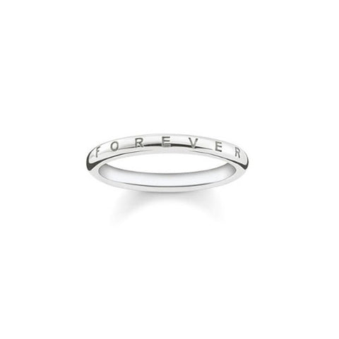 Thomas Sabo Sterling Silver Together Forever Ring