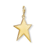 Thomas Sabo Sterling Silver Golden Star Charm