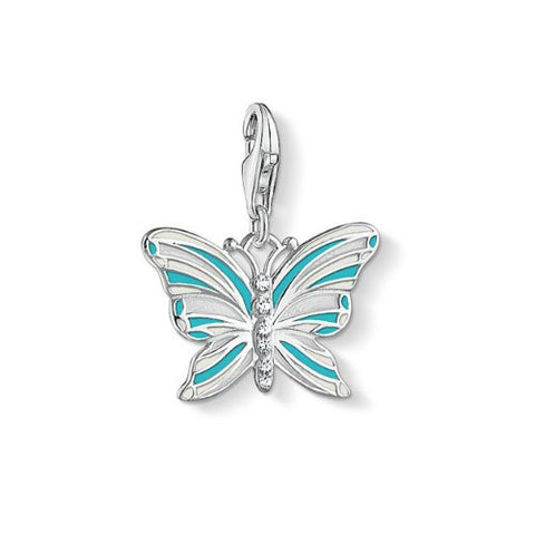 Thomas Sabo Sterling Silver Butterfly Charm