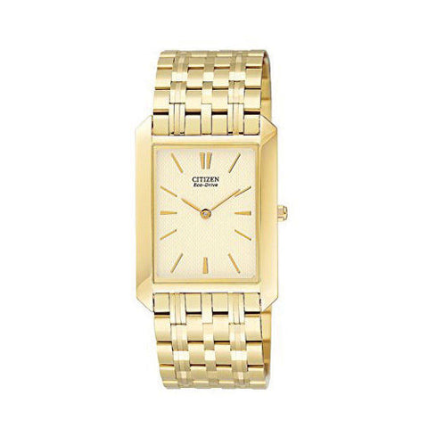 Citizen Eco-Drive Gold Stainless Steel Watch