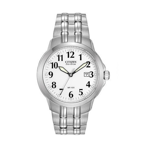 Citizen Eco-Drive Silver Stainless Steel Watch