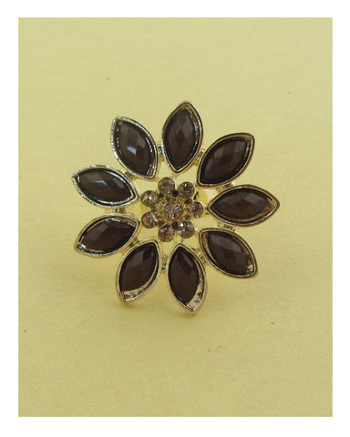 Flower adjustable ring - Its Trendy Frenzy