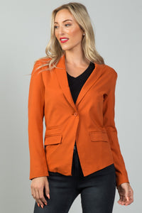 Ladies fashion single button blazer - Its Trendy Frenzy