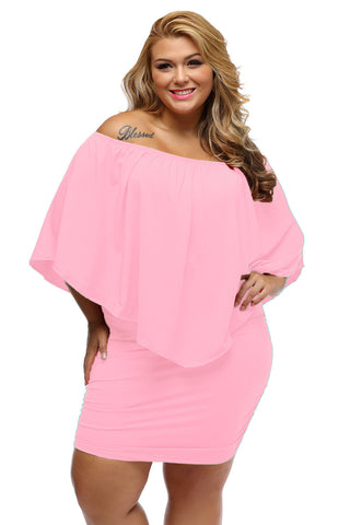 Plus Size  Poncho Dress - Its Trendy Frenzy