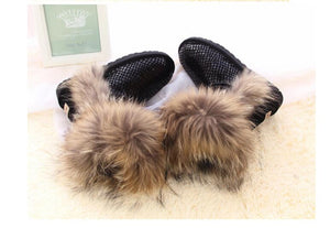 100% Genuine Sheepskin Leather Snow Boots - Its Trendy Frenzy