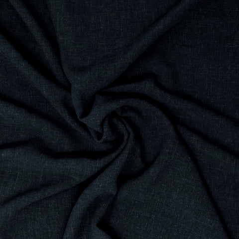 Avery Lightweight Viscose Linen Atlantic Navy ½ yd-Fabric-Spool of Thread