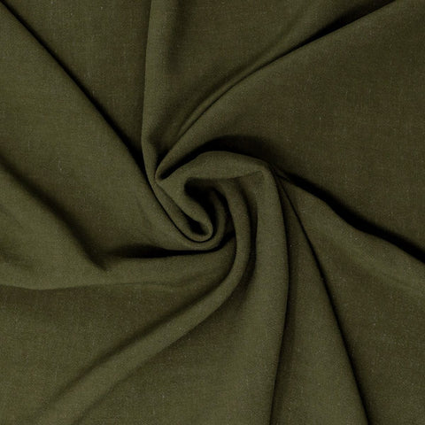 Avery Lightweight Viscose Linen Fern ½ yd-Fabric-Spool of Thread