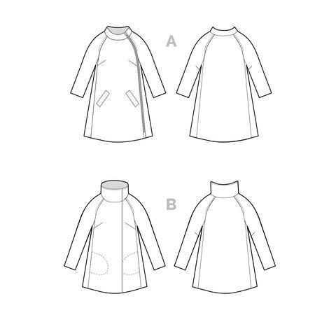 Closet Case Clare Coat Paper Pattern-Pattern-Spool of Thread