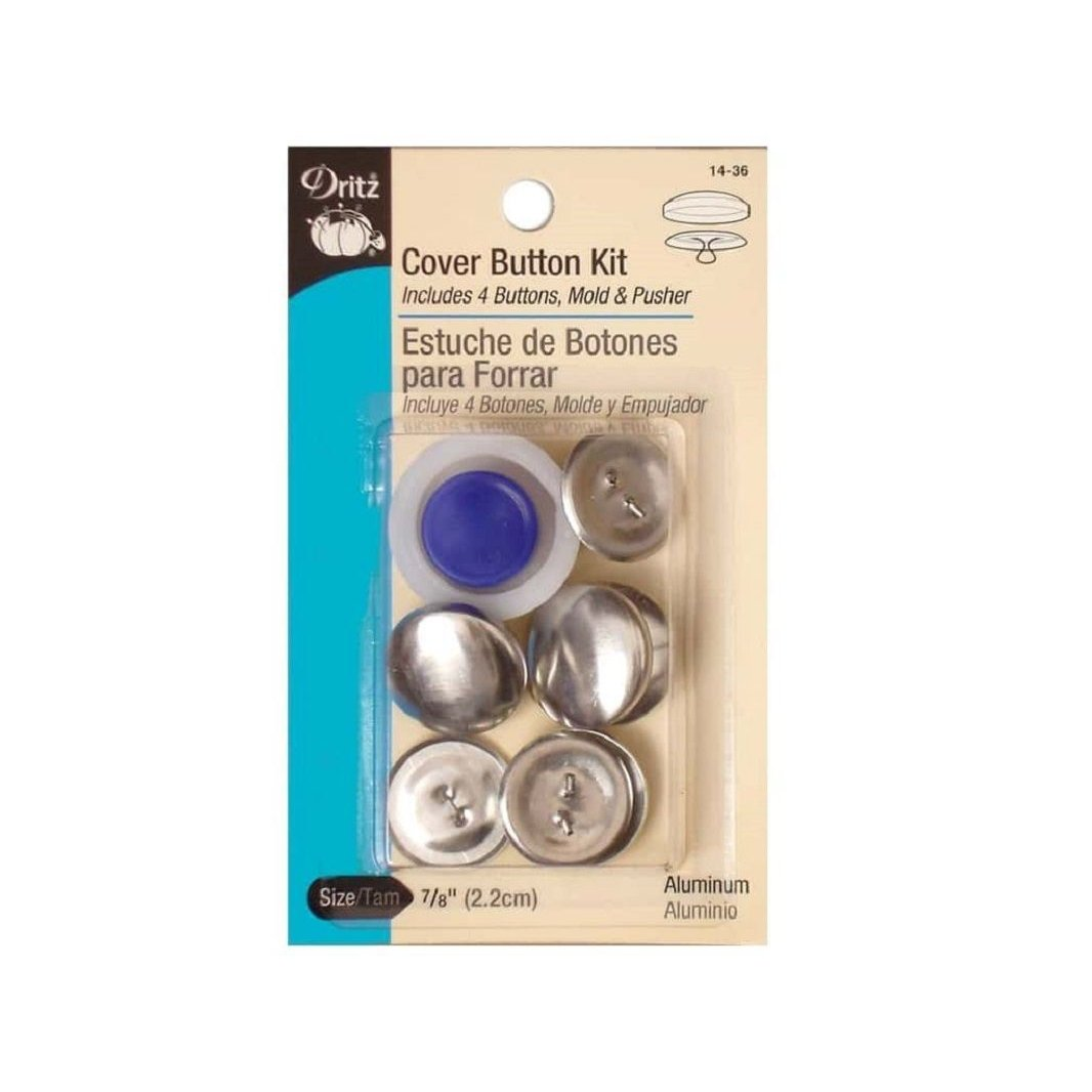 "Cover Button Kit 7/8""-Notion-Spool of Thread"