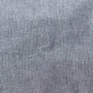 Florence Stripe Linen Navy ½ yd-Fabric-Spool of Thread