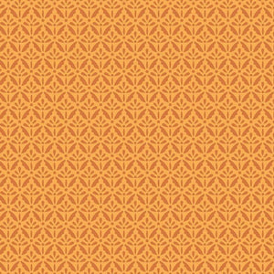 Home Grown Orange ½ yd-Fabric-Spool of Thread