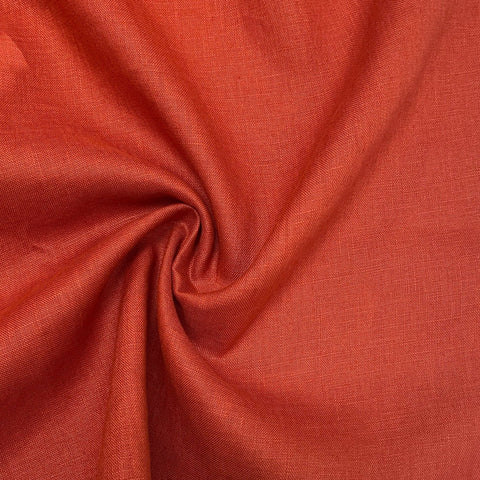 Jericho Linen Paprika ½ yd-Fabric-Spool of Thread