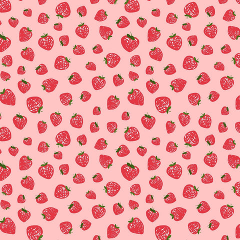 Kiss The Cook Strawberry Jam Shell ½ yd-Fabric-Spool of Thread